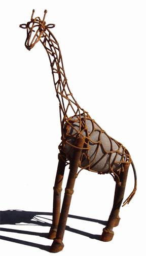 scratchboard giraffe